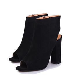 057e0b3912f Shop Peep Toe Red Heel Boots UK | Peep Toe Red Heel Boots free ...