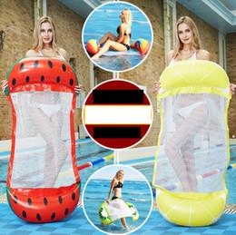 $enCountryForm.capitalKeyWord Australia - New Summer Inflatable Pool Float water hammock Swimming Floating Bed Water Hammocks Recreation Beach Mat Mattress Lounge Chair Pool mattress