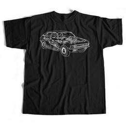 4ac5bf44e Old Skool Hooligans Austin Allegro T Shirt - Hot Rod Rat Rod Custom Car Sketch  Men Women Unisex Fashion tshirt Free Shipping