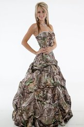 Wedding Gown Draped Back Australia - Vintage 2019 Camo Ball Gown Wedding Dresses Sweetheart Sleeveless Lace Up Back Draped Satin Long Country Camouflage Bridal Gowns Custom Made