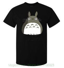 Totoro Art Australia - My Neighbor Totoro Cute Grey Art Stylish Men's ( Woman's Available ) T Shirt Black Men And Woman T Shirt Free Shipping