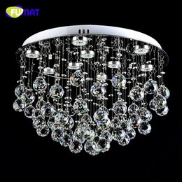 dimmer switches for lamps NZ - FUMAT K9 crystal Ceiling Lamp LED Dimming LED Lustre Crystal light For Living Room Brief Modern Chrome finished Crystal Lamps