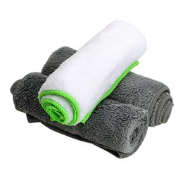 $enCountryForm.capitalKeyWord Australia - Car-styling Car Wash Towel Cleaning Tool Auto Care Detailing Ultra Soft Microfiber Cloth Water Absorption for Car Wax Polish