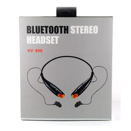 earphones bluetooth stereo Australia - Hv -800 Wireless Sport Neckband Headset In -Ear Headphone Bluetooth Stereo Earphones Headsets For Iphone Samsung Note