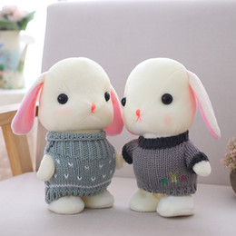 ElEctric toy rabbit online shopping - Cute cm Electric Plush Rabbit Can Walk And Repeat What You Said Multifunctional Toy Can Sing Songs Bunny Rabbit Plush Doll Y19070103