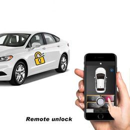 Car alarms remote Control online shopping - Keyless Entry Car Alarm Systems Auto Remote Central Door Locking Vehicle SmartPhone PKE Control Car Alarm System B Kit