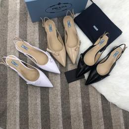 5a8a6414a Летние женские босоножки на высоком каблуке итальянского бренда заостренные  лакированная кожа мода женская повседневная обувь бесплатная доставка 35-41  ...