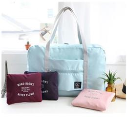 66e6e959206b Hot Sports Gym Bag Portable Female Folding Storage traveling bags Outdoor  Training Travel Handbag Large Capacity Women Fitness Yoga Duffle