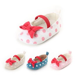 wholesale mary jane baby shoes Australia - Pudcoco 2019 Baby Shoes Newborn Infant Pram Mary Jane Girls Princess Shoes Soft First Walkers