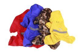 $enCountryForm.capitalKeyWord UK - 1PCS Fashion Pet Reflective Strip Raincoat Dog Vest Dog Polyester Waterproof Rain Poncho Pet Dog Rain Jacket