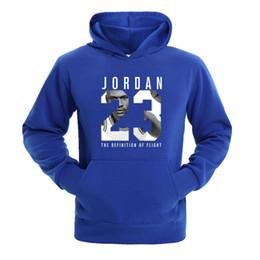 e70603cf21c Autumn 2018 New Women Men's Casual Players 23 Print Hedging Hooded Fleece Sweatshirt  Hoodies Pullover Size S-XXXL
