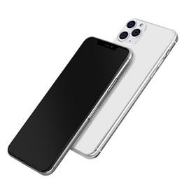 Não-Trabalho 1: 1 Falso Metálicos Telefone Display Model Mold manequim para iPhone 11 pro 11Pro max manequim Display Case Para em Promoção