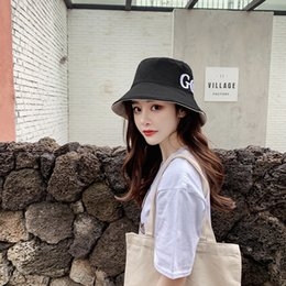 garden blocks Australia - South Korean version of the sun block sun cap spring summer women's double letter cloth cap folding sun hat zyglgyf9108-13`5