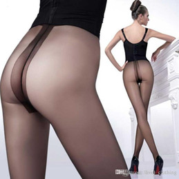 Color Hose Australia - Seamless silk stockings super thin core silk lady transparent bottoming trousers T file display thin panty hose anti hook silk