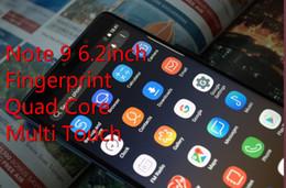 Cell Phones Big Screens Australia - Big Discount!Goophone Note9 N9 6.2inch MTK6580 Unlocked cell phone Quad Core android dual sim 1G Ram 8G Rom phone 3G SmartPhone