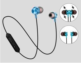 $enCountryForm.capitalKeyWord Australia - XT11 Magnetic Bluetooth Headphone In-Ear Neckband Headset Waterproof Metal Stereo Earbuds Sport Jogging Earphones for iPhone Android ACC
