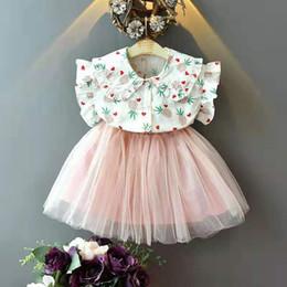 $enCountryForm.capitalKeyWord Australia - kids designer clothes girls summer clothing pure cotton T-shirt and tutu skirt medium and small girls outfits