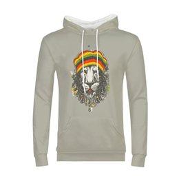 c86695b1e987 Panda Hoodie Men Australia - Hoodies Man 3D Printed Rock Lion Orangutan  Panda Hip Pop Streetwear