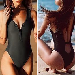 1b2db064fd4d6 2018 New Sexy Deep V Neck wrap around High waist one piece swimsuit women  swimwear bathing suit bandage bodysuit romper bather