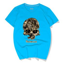 $enCountryForm.capitalKeyWord UK - Cotton Summer Cool Men T-Shirts The Walking Dead TWD Skull Casual Short Sleeve Hip-Hop Top Tees Crewneck Polos High Quality Streetwear