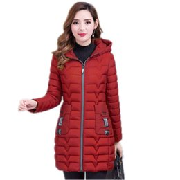 $enCountryForm.capitalKeyWord Australia - 2019 women winter hoodie warm coat big size Thicken cotton padded jacket woman long parka women fashion printing feminina G1111