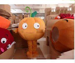 Adult Size Pumpkin Costume Australia - 2019 High quality plush pumpkin carnival costumes mascot costumes adult size free shipping