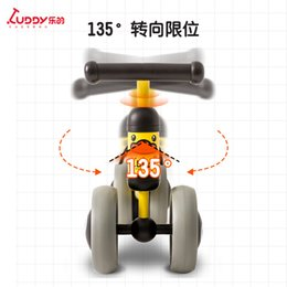 pedal orange Canada - small yellow duck balance car children 1-3 years old baby yo car no pedal baby scooter toddler toys