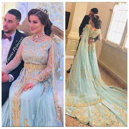 Flooring india online shopping - 2019 Sleeveless A Line Prom Dresses India With Gold Embroidery Beaded Special Occasion Party Gowns Custom Evening Party Gowns Robe De Soiree