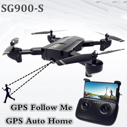 Gps Hd Australia - SG900-S GPS Drone with camera HD 1080P Professional FPV Wifi RC Drones Altitude Hold Auto Return Dron RC Quadcopter Helicopter