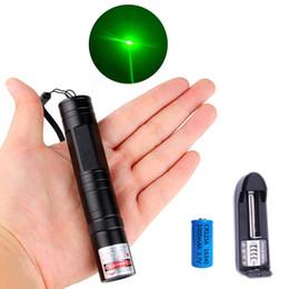 532nm Tactical Laser Grade зеленого указатель Strong Pen Лазеры Lazer фонарик Мощное Мерцание с батареей на Распродаже