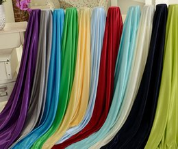 make fabric UK - Good Quality Ice Silk Fabric Made For Table Skirt For Banquet Wedding Decoration