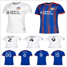 ac23e9300cd 2019 2020 MLS FC Cincinnati Soccer Jerseys GARZA WASTON 6 BERTONE 9 ADI 15  A.CRUZ Custom 19 20 Home Away Football Shirt