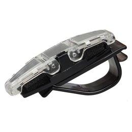 Dual sunglasses online shopping - 2019 HOT Car Sun Visor Clip Holder For Dual Sunglasses Eyeglass Reading Glasses Card Pen