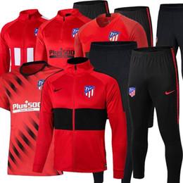 Venta al por mayor de 2019 20Real Madrid chándal de fútbol Polo Madrid Traje de entrenamiento de manga corta 19 20 camiseta de futbol Atletico Polo Tamaño del traje de entrenamiento: S-2XL