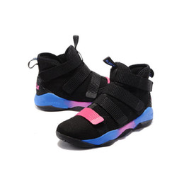 separation shoes 7d676 d734f Lebron Soldier 12 UK - Lebron soldier 11 XI shoes mens basketball for sale  Christmas BHM