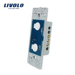 $enCountryForm.capitalKeyWord Australia - Livolo US standard Base Of Wall Light Touch Screen Switch, 2Gang 1Way, AC 110~250V,Without glass panel, 7 Functions