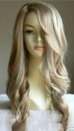 $enCountryForm.capitalKeyWord Australia - WIG free shipping >>> AU025 New fashion long curly blonde wig hair wigs +weaving cap