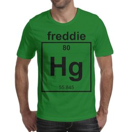 4cbb6329f Mad Over Shirts Freddie Mercury Singer Band Musician Chemistry Geek Cool  Designer Men T Shirts Graphic Beach Cotton Short Sleeve Shirts Mach