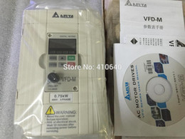 Delta Alloys Australia - Delta Inverter 0.75KW VFD007M43B 3 Phase 380V to 460V Rated Currrent 3A 100% New Products with Free Shipping Delivery