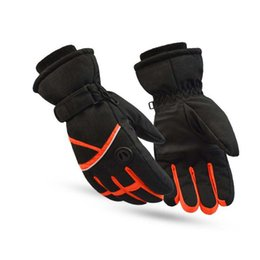 Wholesale CUHAKCI Winter Gloves Waterproof Esquiar Men Gloves Warm Male Mountain Outdoor Windproof Thick Moto Guanti Ski Guantes G055