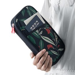 China New Passport Holder 2019 Fashion Card Wallet Unisex Passport Cover Travel Wallet Document Holder Organizer For Card & Id Holders cheap passport document wallet suppliers