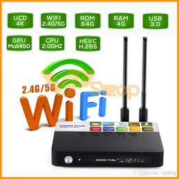 $enCountryForm.capitalKeyWord Australia - CSA93 Plus 4GB 64GB Android 8.1 TV Box RK3328 Quad Core 4K Smart TV Stick 2.4G 5.8G WiFi USB 3.0 Bluetooth 4.0 Set Top Box