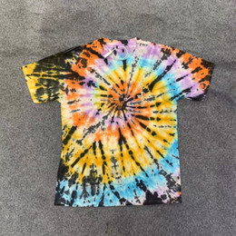 Chinese  15colors 2020ss Tie Dye Tee Men Women Summer Style t-shirts dongguan_ss manufacturers