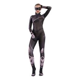 $enCountryForm.capitalKeyWord Australia - Sexy cat lady Halloween cosplay costume Catwoman Cat girl 3D digital print Zentai anime tights jumpsuit