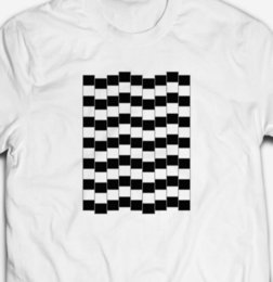 $enCountryForm.capitalKeyWord Australia - OPTICAL ILLUSION GEOMETRIC PATTERN T-SHIRT mens pride dark t-shirt white black grey red trousers tshirt suit hat pink t-shirt