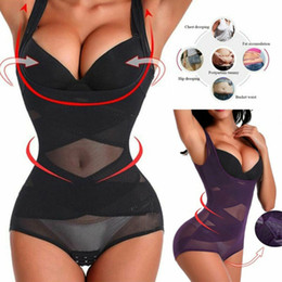 Slimming donne Body Trainer vita Shapewear del corsetto La riduzione dello Shaper del corpo della biancheria intima di modellazione di controllo riassunti delle mutandine Plus Size in Offerta