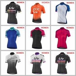 High Quality Cycling Clothing Australia - High Quality Women cycling jersey 2019 LIV Team New cycle clothing short sleeve racing tops MTB outdoor sport wear bicycle outfits Y050805