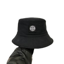 novo chapéu pescador hip hop Camping chapéu da pesca praia caça sol Forma do bordado exterior homens Stingy Brim Chapéus e mulheres sunhat cap Bucket em Promoção