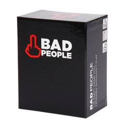 Thinking Games Australia - Bad People The Party Game You Probably Shouldn't Play Find out what your friends really think about you in this hilarious