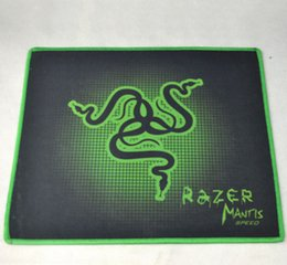 mouse for lol Australia - Newest PC Mouse Mat Pad Razer 250x300X2mm Goliathus Locking Edge Gaming Speed Version Mousepad For Lol CS Dota2